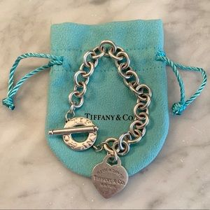 Tiffany & co. Heart Tag Toggle Bracelet